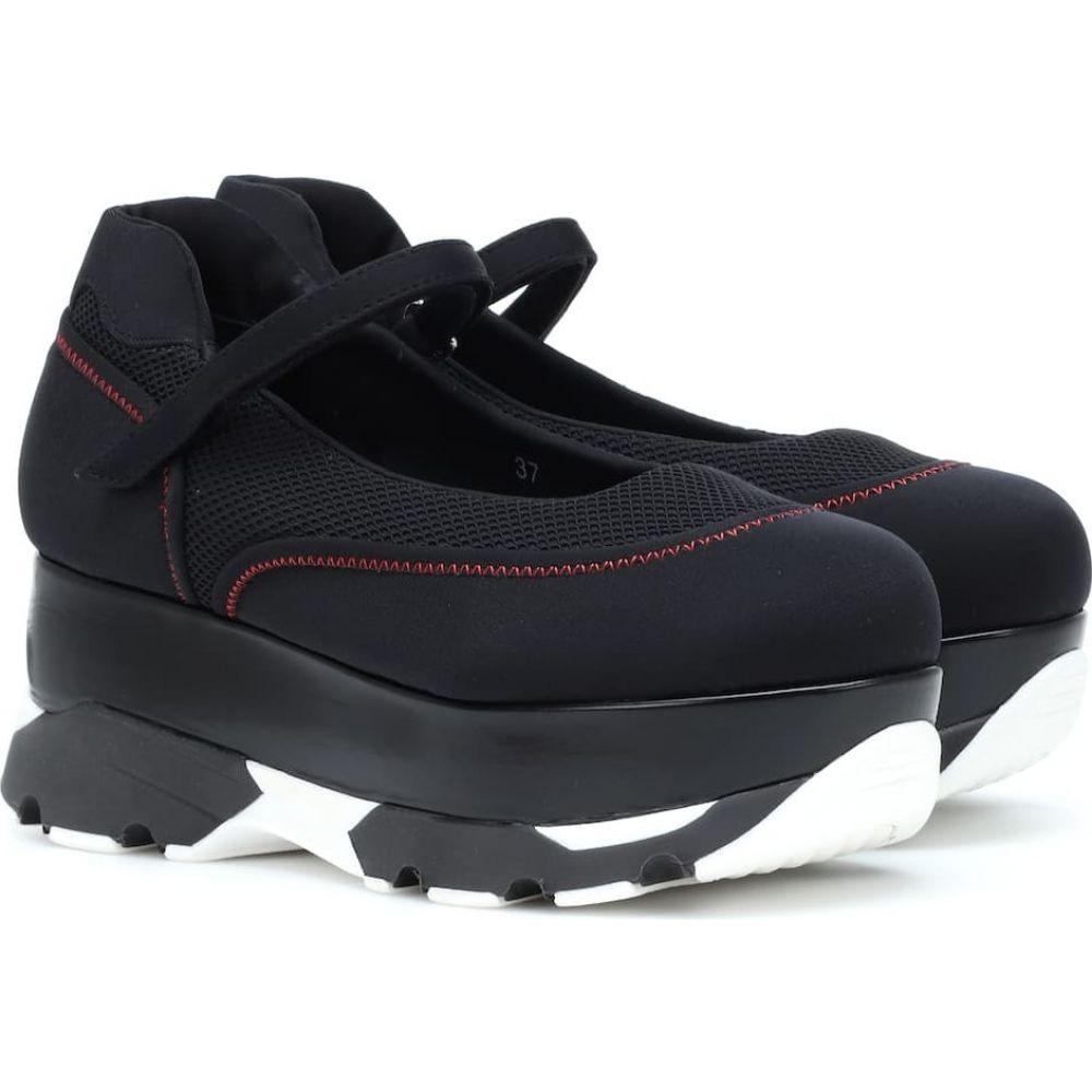 マルニ Marni レディース ブーツ シューズ・靴【Scuba flatform sneakers】Black