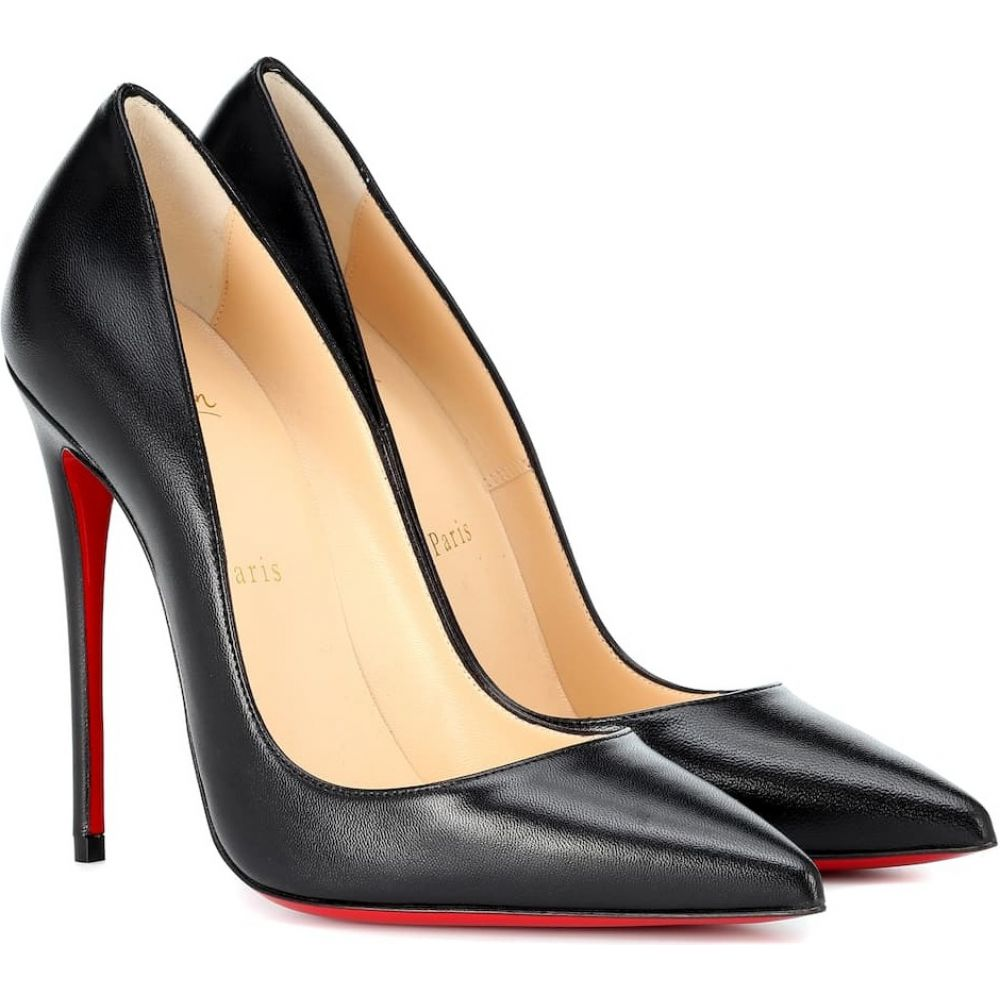 クリスチャン ルブタン Christian Louboutin レディース パンプス シューズ・靴【So Kate 120 leather pumps】Black