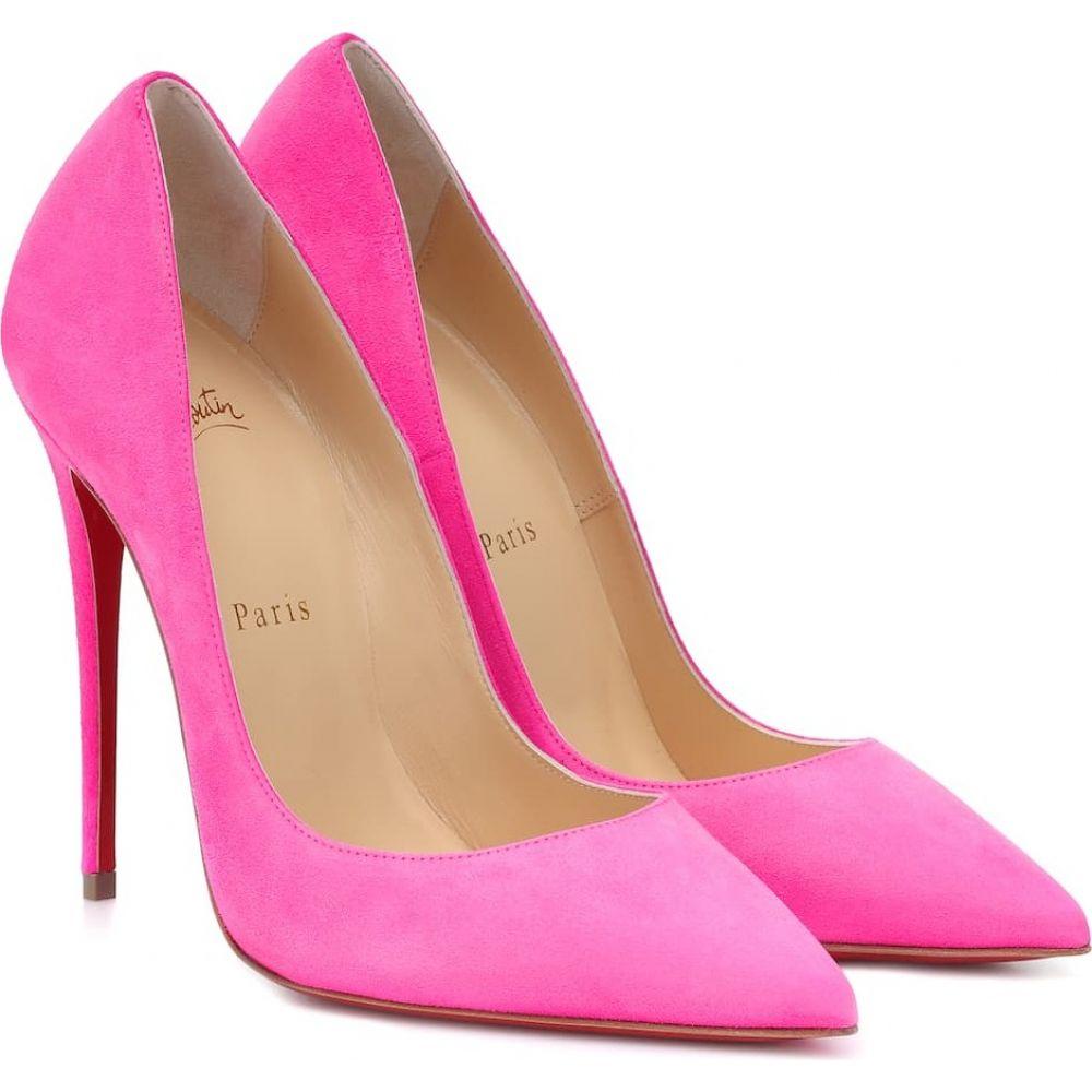 クリスチャン ルブタン Christian Louboutin レディース パンプス シューズ・靴【So Kate 120 suede pumps】Diva