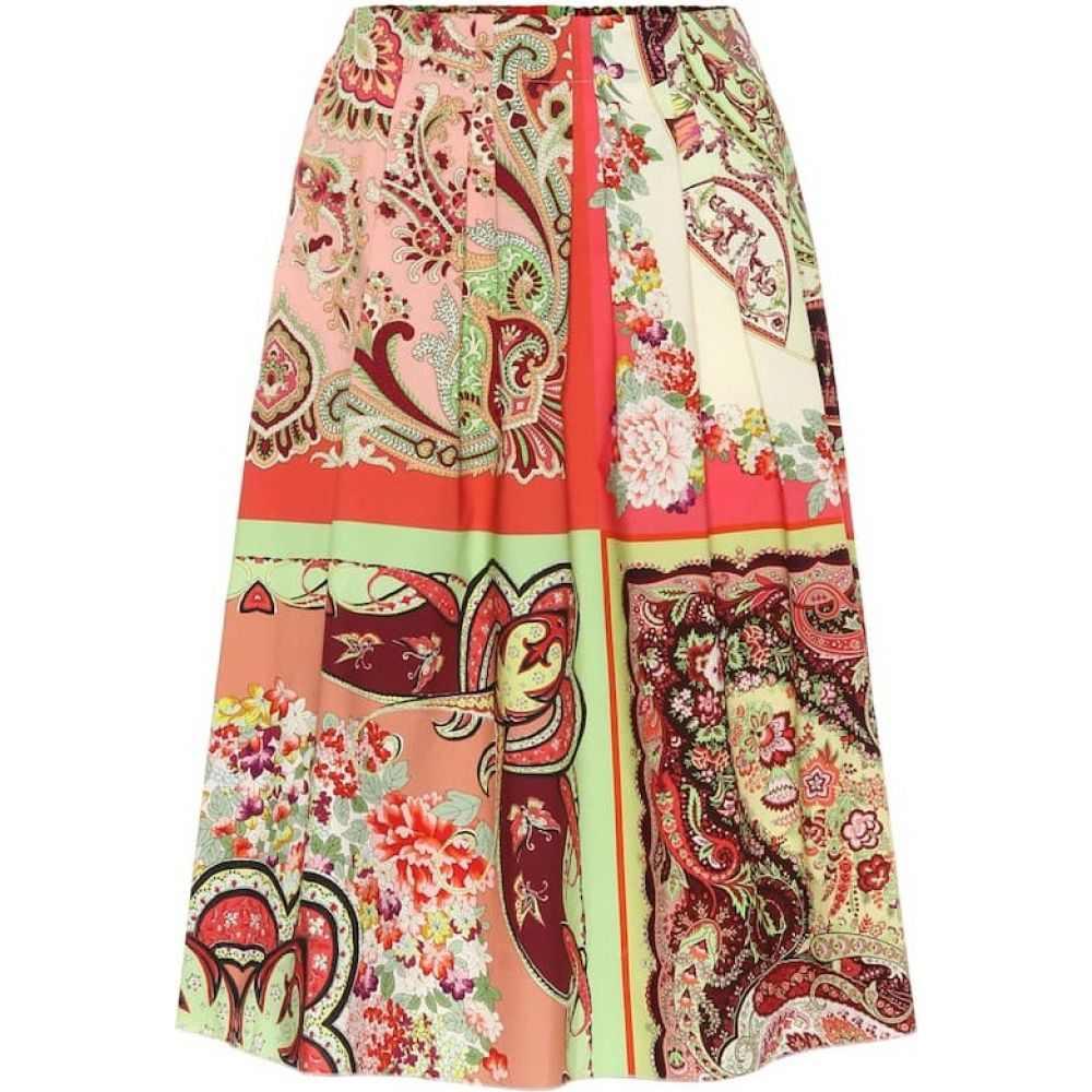 エトロ Etro レディース スカート 【Printed cotton skirt】