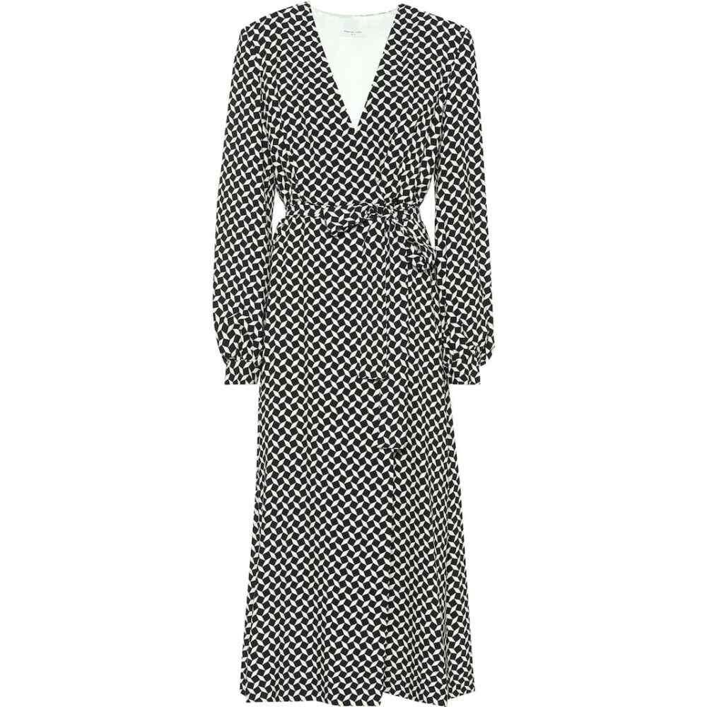 ドリス ヴァン ノッテン Dries Van Noten レディース ワンピース ラップドレス ワンピース・ドレス【Printed wrap dress】Black