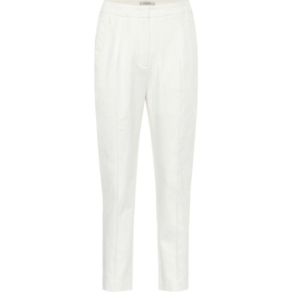 ドロシー シューマッハ Dorothee Schumacher レディース ボトムス・パンツ 【Tailored Coolness high-rise pants】Camellia White