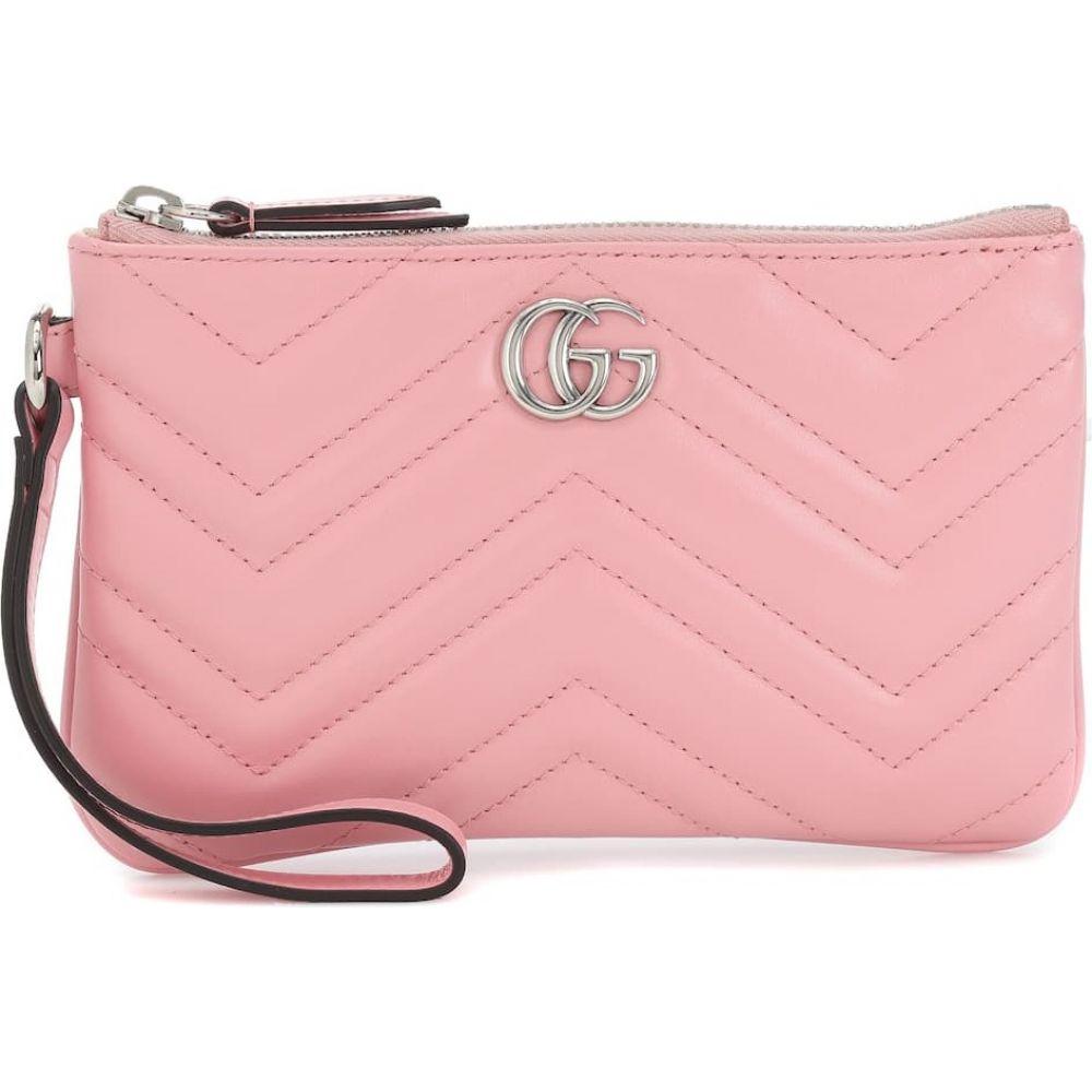 グッチ Gucci レディース 財布 【GG Marmont Small leather wrist wallet】Wild Rose