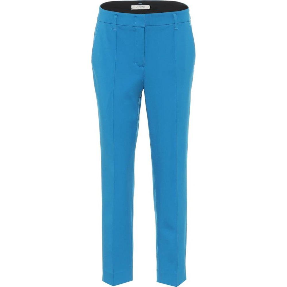 ドロシー シューマッハ Dorothee Schumacher レディース ボトムス・パンツ 【Emotional Essence mid-rise pants】Deep Turqulose