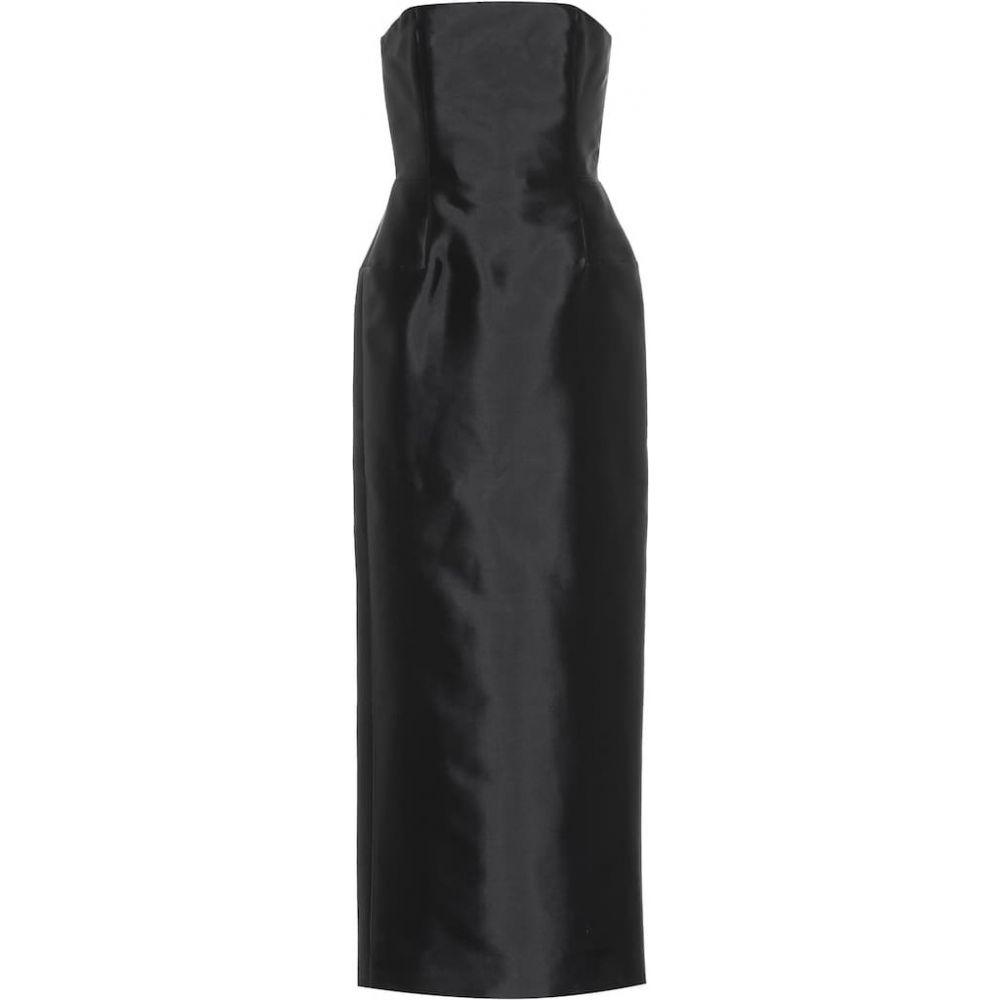ガブリエラ ハースト Gabriela Hearst レディース ワンピース ワンピース・ドレス【Catigula silk and wool dress】Dark Navy
