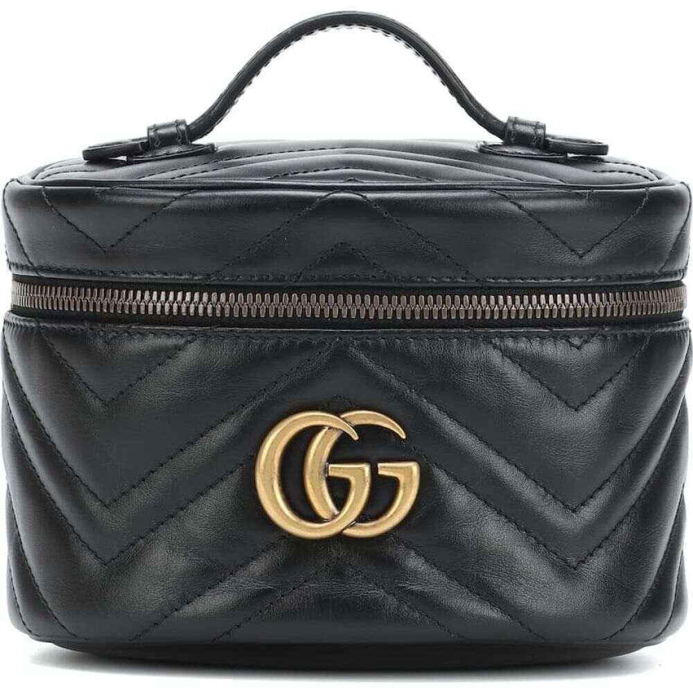 グッチ Gucci レディース ポーチ 化粧ポーチ【GG Marmont Small cosmetics case】Nero/Nero