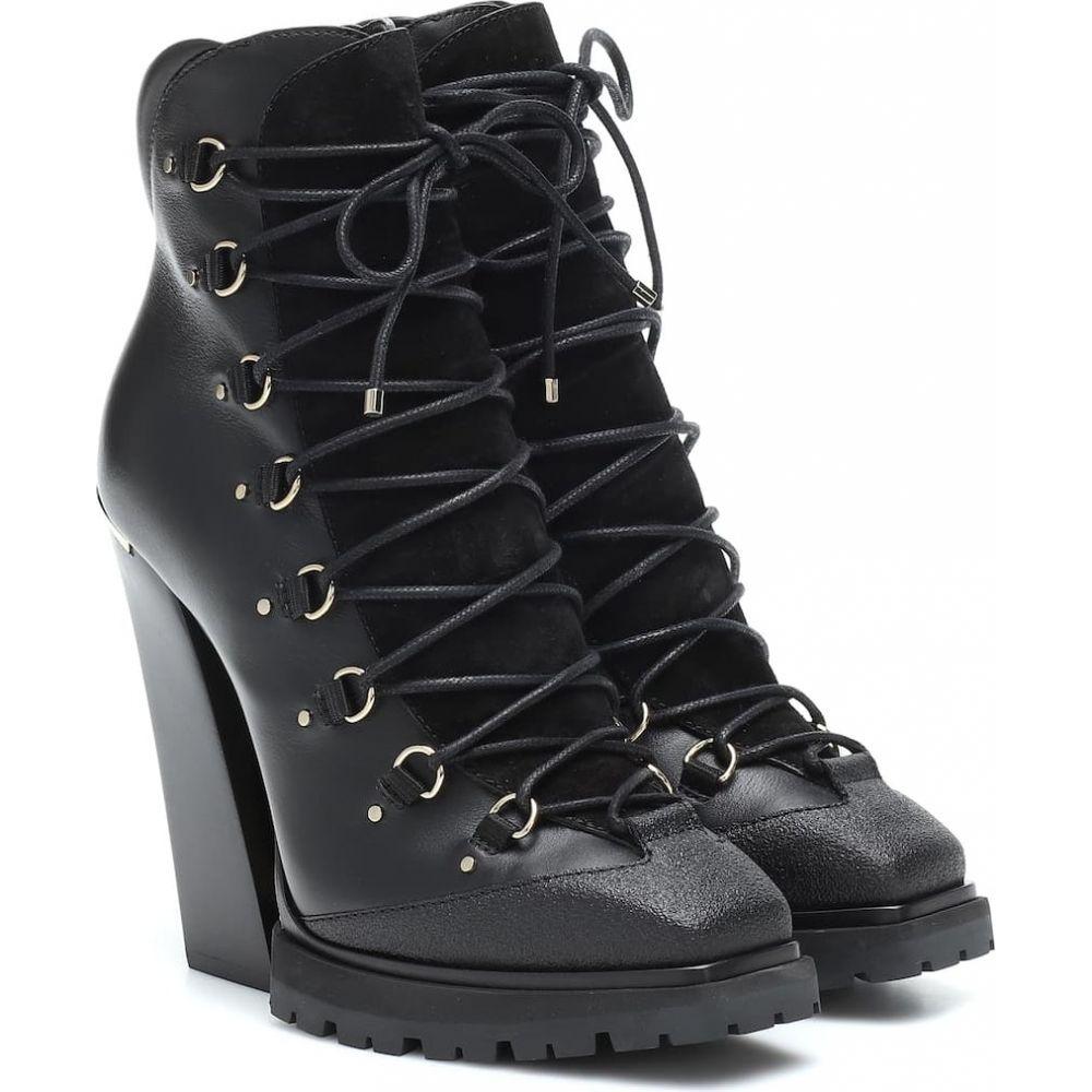 ジミー チュウ Jimmy Choo レディース ブーツ ショートブーツ シューズ 靴 Madyn 130 leather ankle boots Black プレゼント クリスマス 楽天年間ランキング受賞