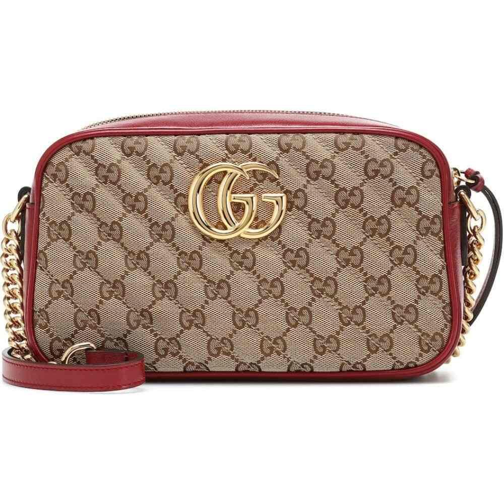 グッチ Gucci レディース ショルダーバッグ カメラバッグ バッグ【GG Marmont Small Camera shoulder bag】B/Eb/New Cherry Red