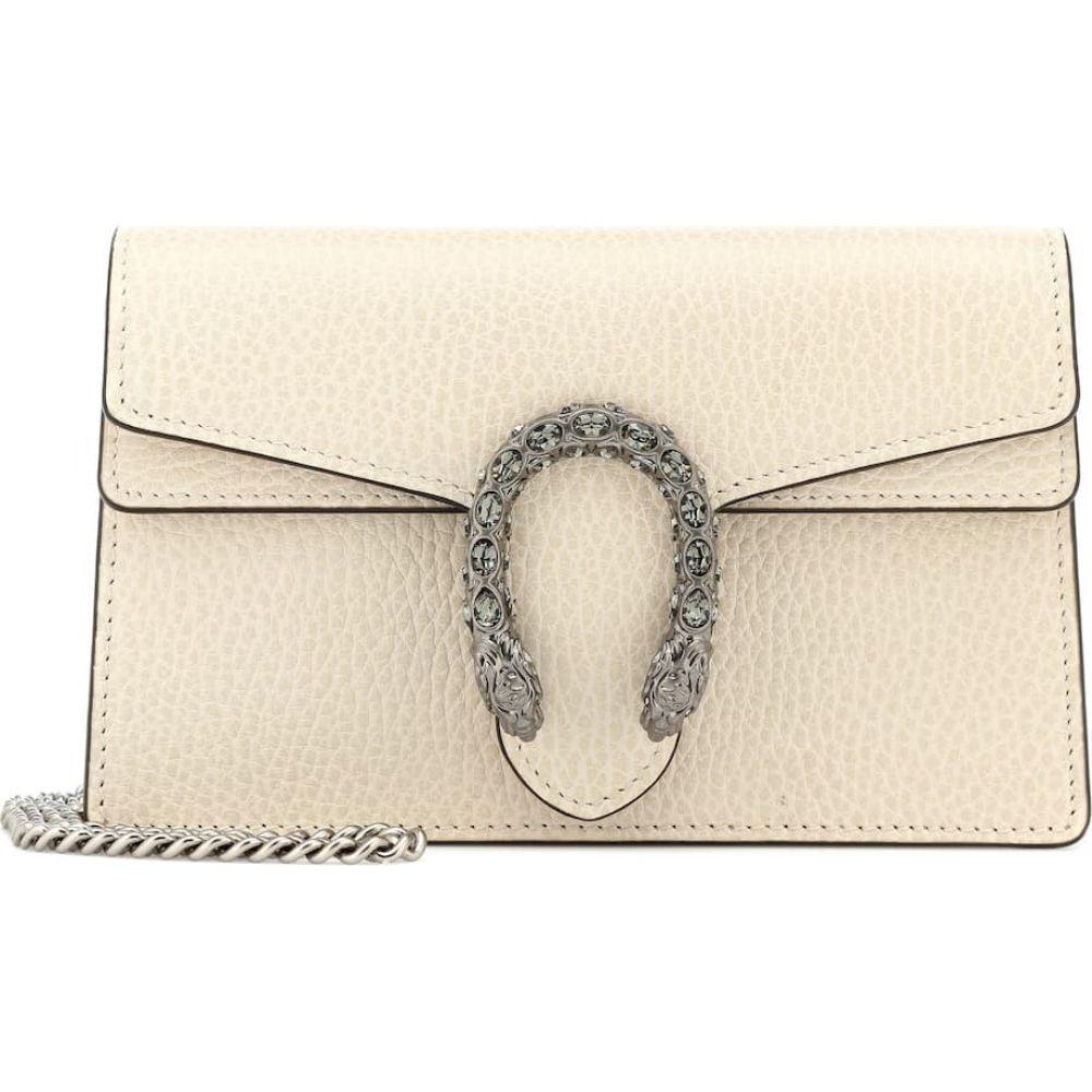 グッチ Gucci レディース ショルダーバッグ バッグ【Dionysus Super Mini crossbody bag】Ivory