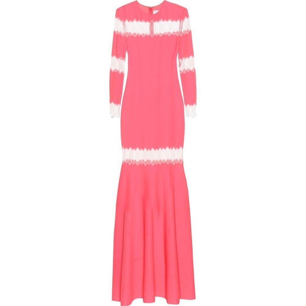 フーシャン ツァン Huishan Zhang レディース ワンピース ワンピース・ドレス【Long-sleeved dress】Bubblegum/White