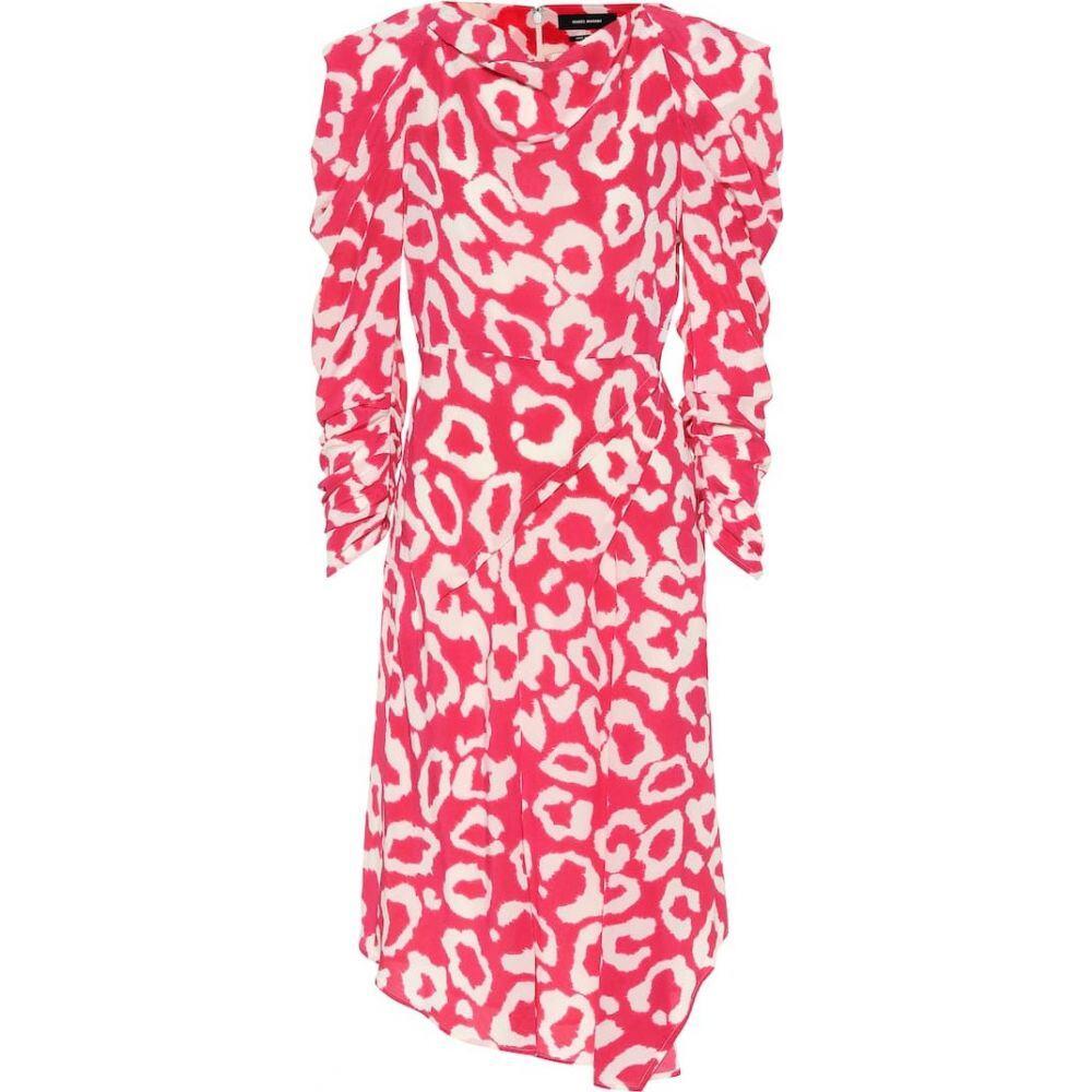 イザベル マラン Isabel Marant レディース ワンピース ワンピース・ドレス【Carley printed dress】Pink Drop