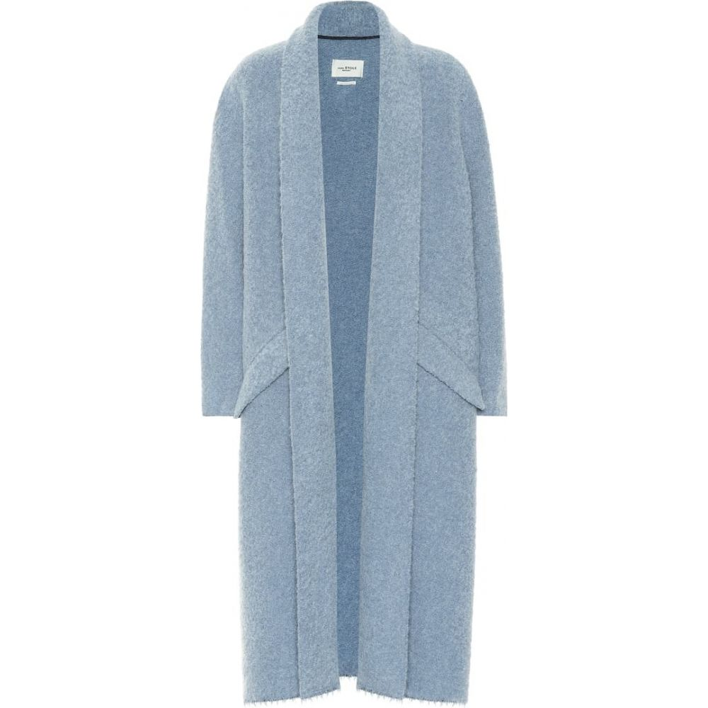 イザベル マラン Isabel Marant, Etoile レディース カーディガン トップス【Faby maxi cardigan】Blue