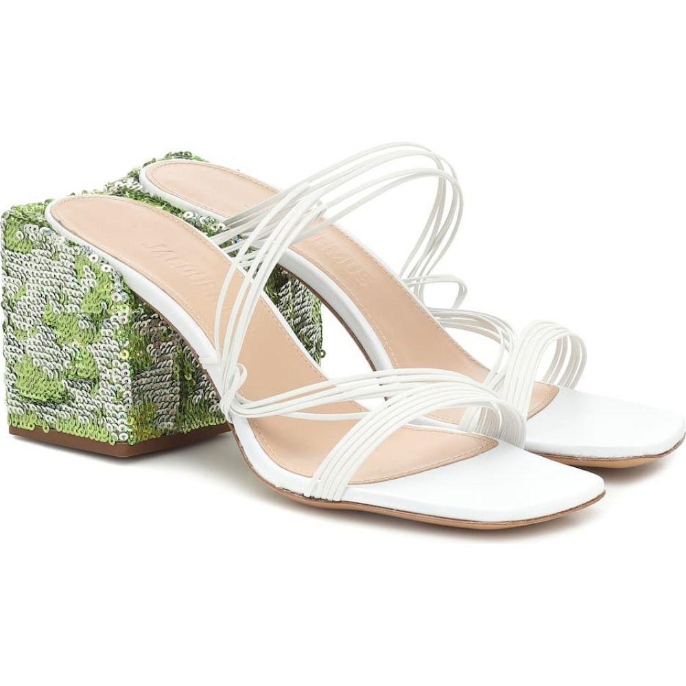 ジャックムス Jacquemus レディース サンダル・ミュール シューズ・靴【Les Mules Estello sandals】White
