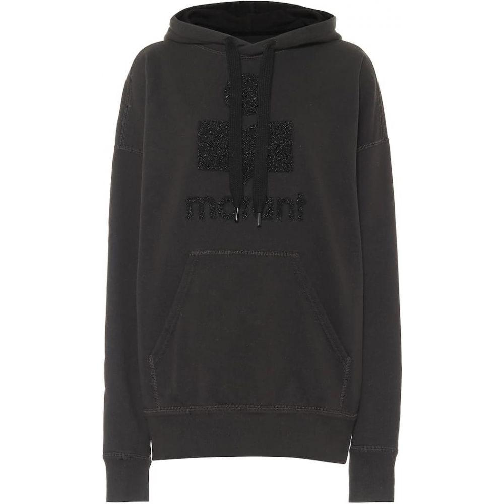 イザベル マラン Isabel Marant, Etoile レディース パーカー トップス【Mansel oversized cotton-blend hoodie】Faded Black