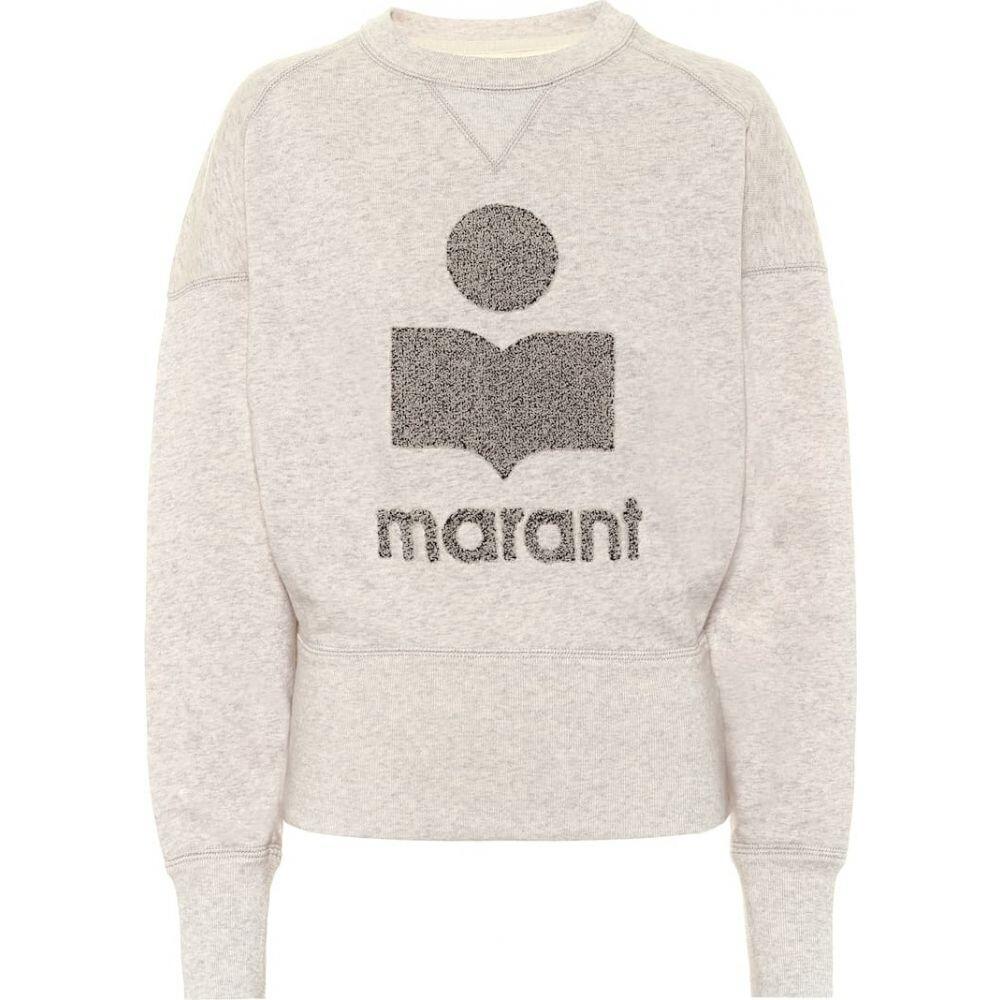 イザベル マラン Isabel Marant, Etoile レディース スウェット・トレーナー トップス【Teloya cotton-fleece sweatshirt】Ecru