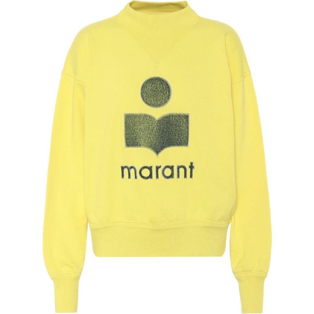イザベル マラン Isabel Marant, Etoile レディース スウェット・トレーナー トップス【Moby cotton-blend sweatshirt】Neon Yellow