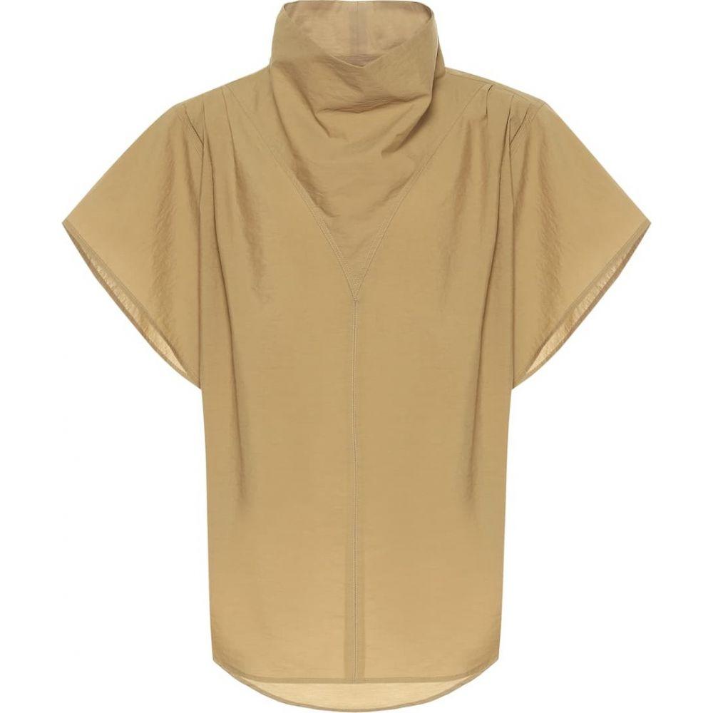 イザベル マラン Isabel Marant レディース トップス 【Parlamili cotton-blend top】Bronze
