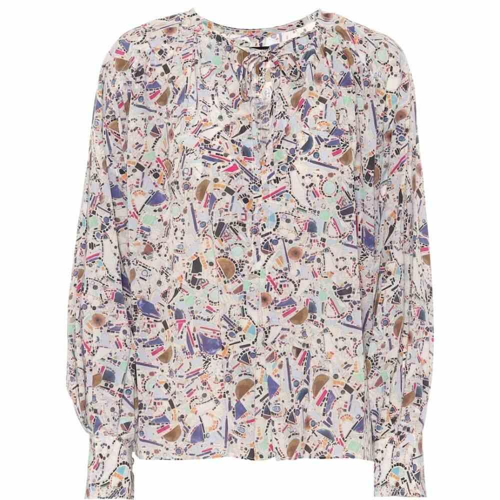 イザベル マラン Isabel Marant レディース ブラウス・シャツ トップス【Amba printed stretch-silk blouse】Multicolor