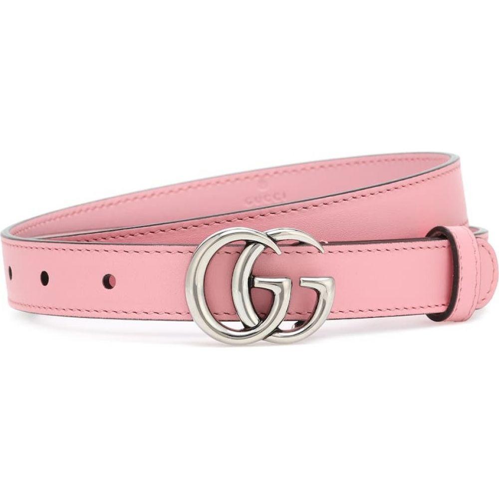 グッチ Gucci レディース ベルト 【GG leather belt】Wild Rose