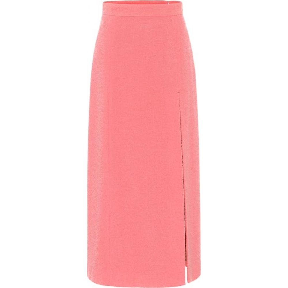 グッチ Gucci レディース ひざ丈スカート スカート【Wool-blend tweed midi skirt】Pink/Mix