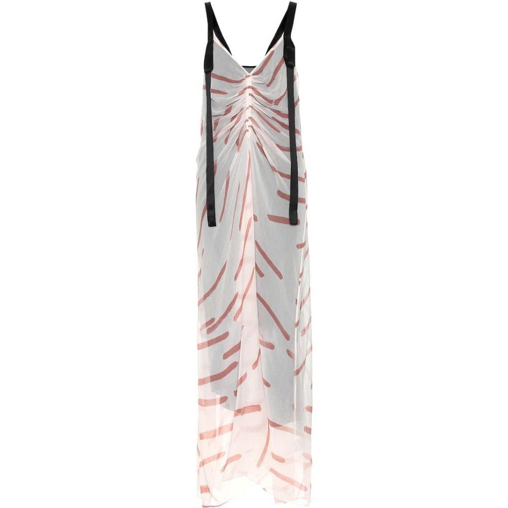 リーマシューズ Lee Mathews レディース ワンピース ワンピース・ドレス【Elsa printed silk dress】Rose
