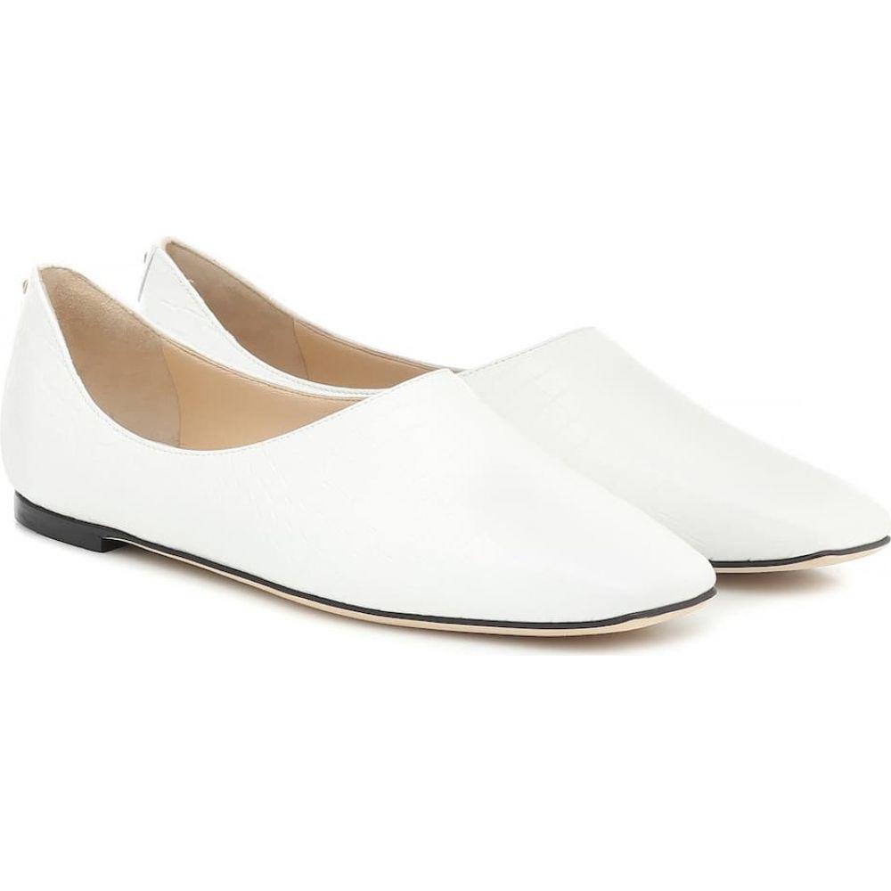 ジミー チュウ Jimmy Choo レディース スリッポン・フラット シューズ・靴【Joselyn leather ballet flats】Latte