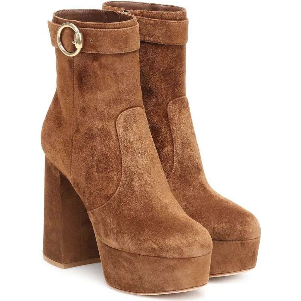 ジャンヴィト ロッシ Gianvito Rossi レディース ブーツ ショートブーツ シューズ・靴【Jackson suede ankle boots】Texas