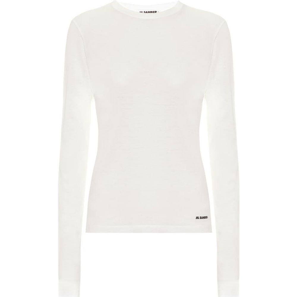 ジル サンダー Jil Sander レディース トップス 【Cotton-jersey top】White