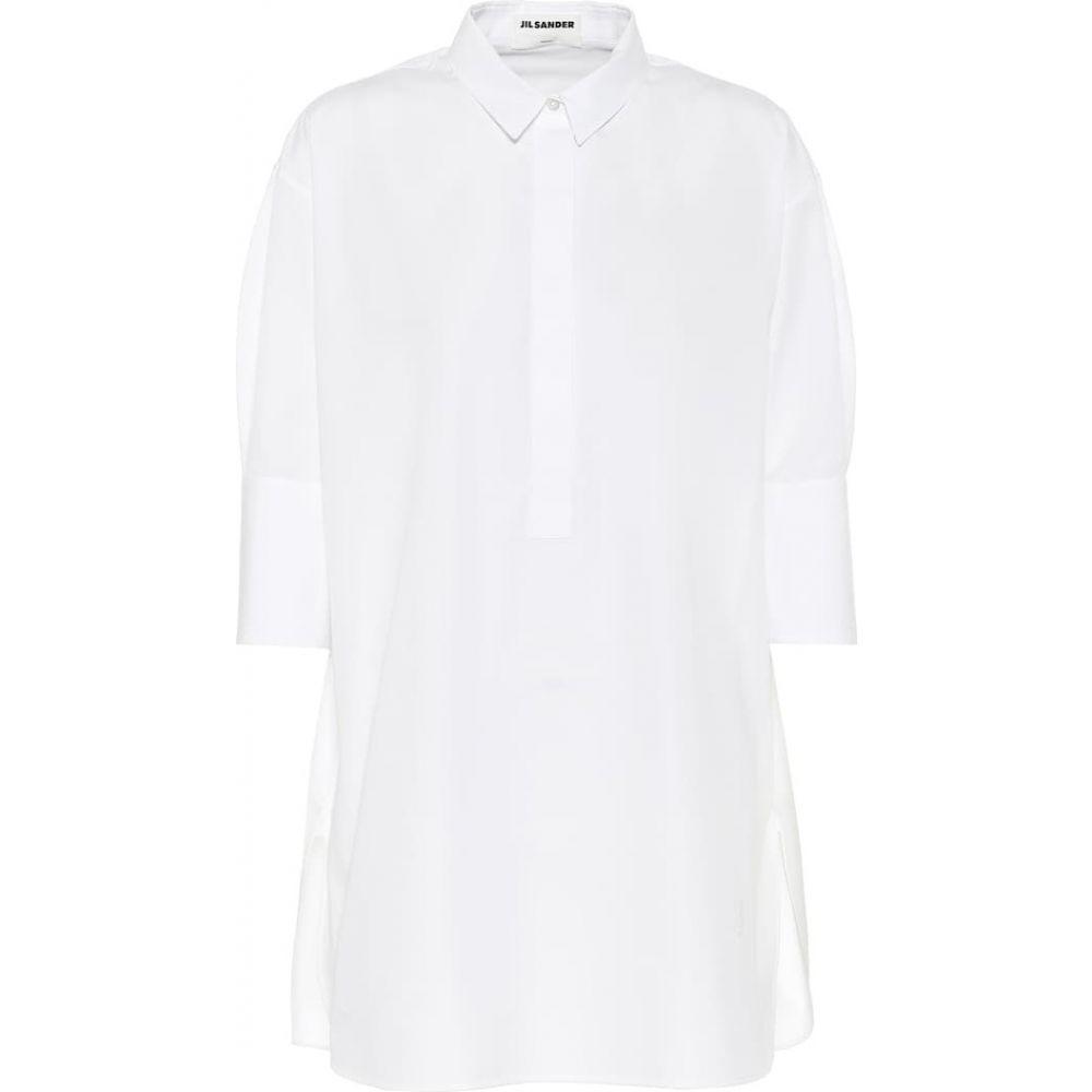 ジル サンダー Jil Sander レディース ブラウス・シャツ トップス【Cotton shirt】White