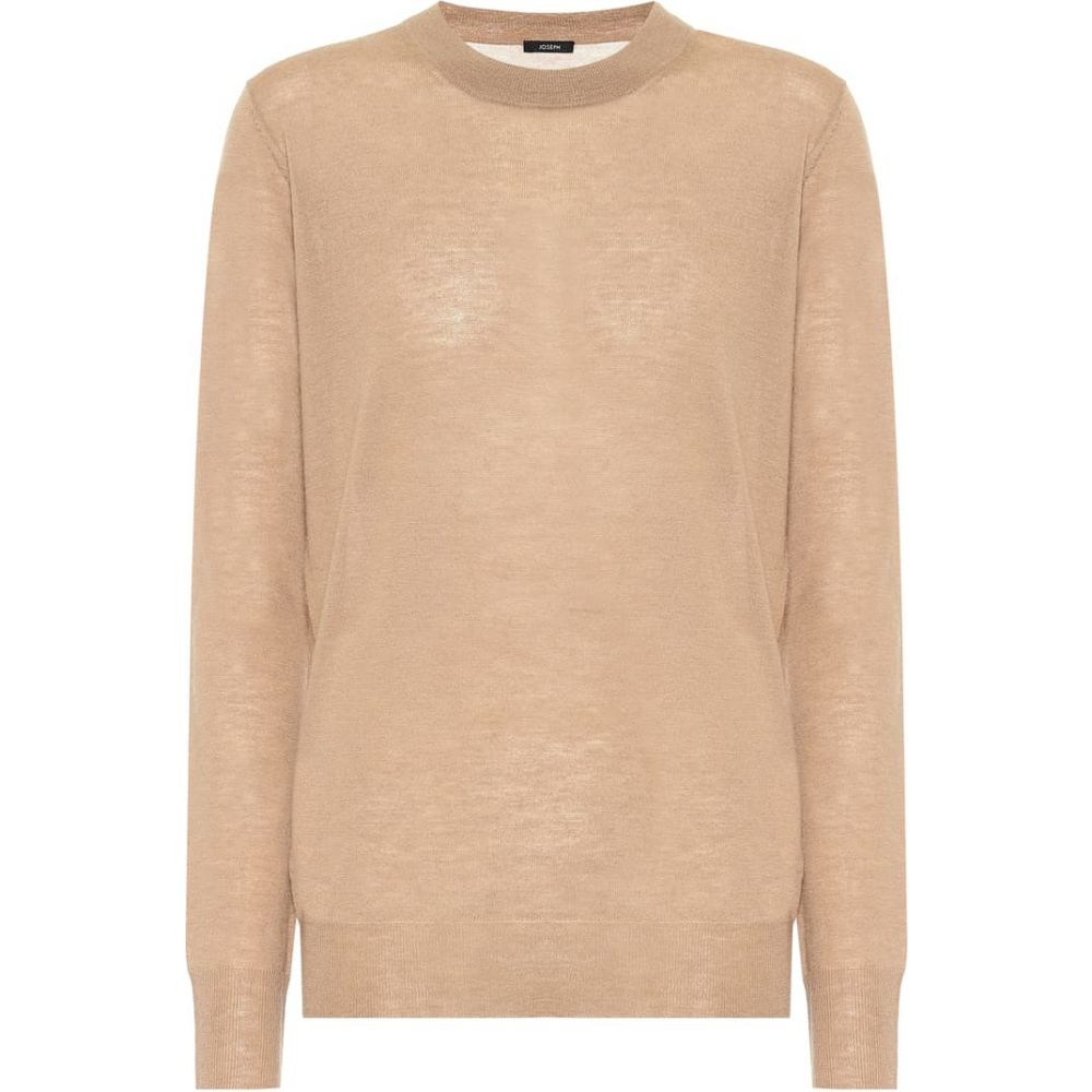 ジョゼフ Joseph レディース ニット・セーター トップス【Cashair cashmere sweater】Camel