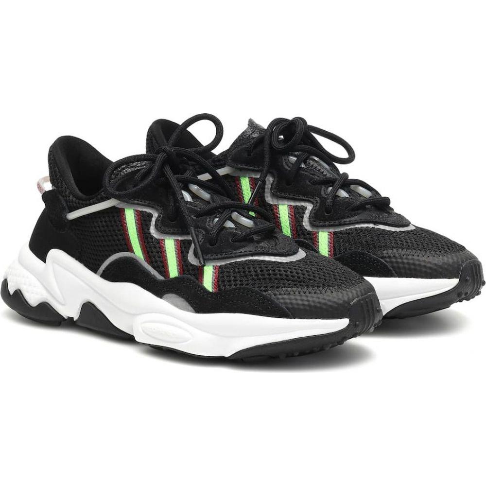 アディダス Adidas Originals レディース スニーカー シューズ・靴【ozweego mesh sneakers】CBlack/SGreen/Onix