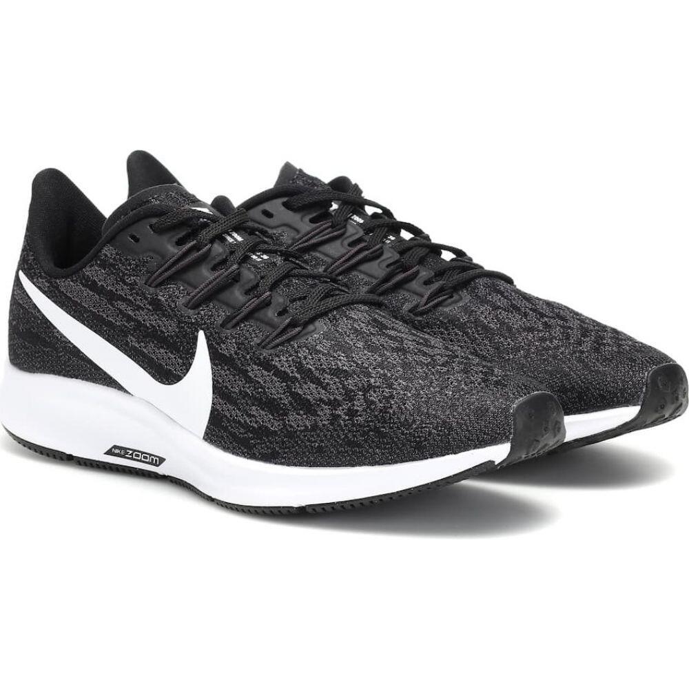 ナイキ Nike レディース スニーカー エアズーム シューズ・靴【air zoom pegasus 36 sneakers】Black/White-Thunder Grey