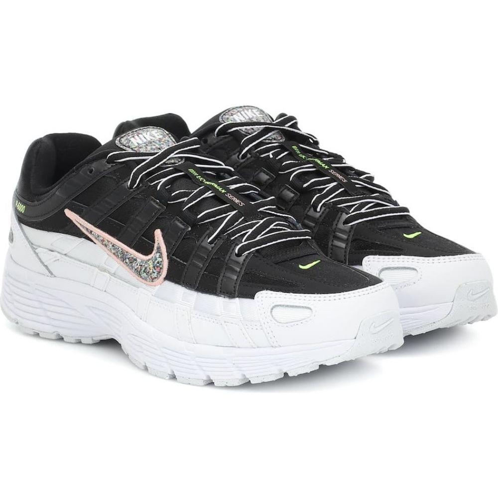 ナイキ Nike レディース スニーカー シューズ・靴【p-6000 se mesh and leather sneakers】Black/Mltclr