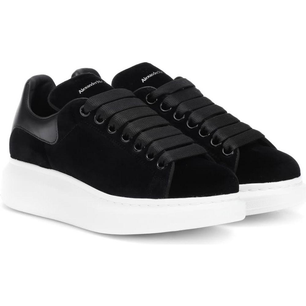 適切な価格 アレキサンダー マックイーン Alexander McQueen レディース スニーカー シューズ・靴【velvet sneakers】Black, e-フラワー 29e72002