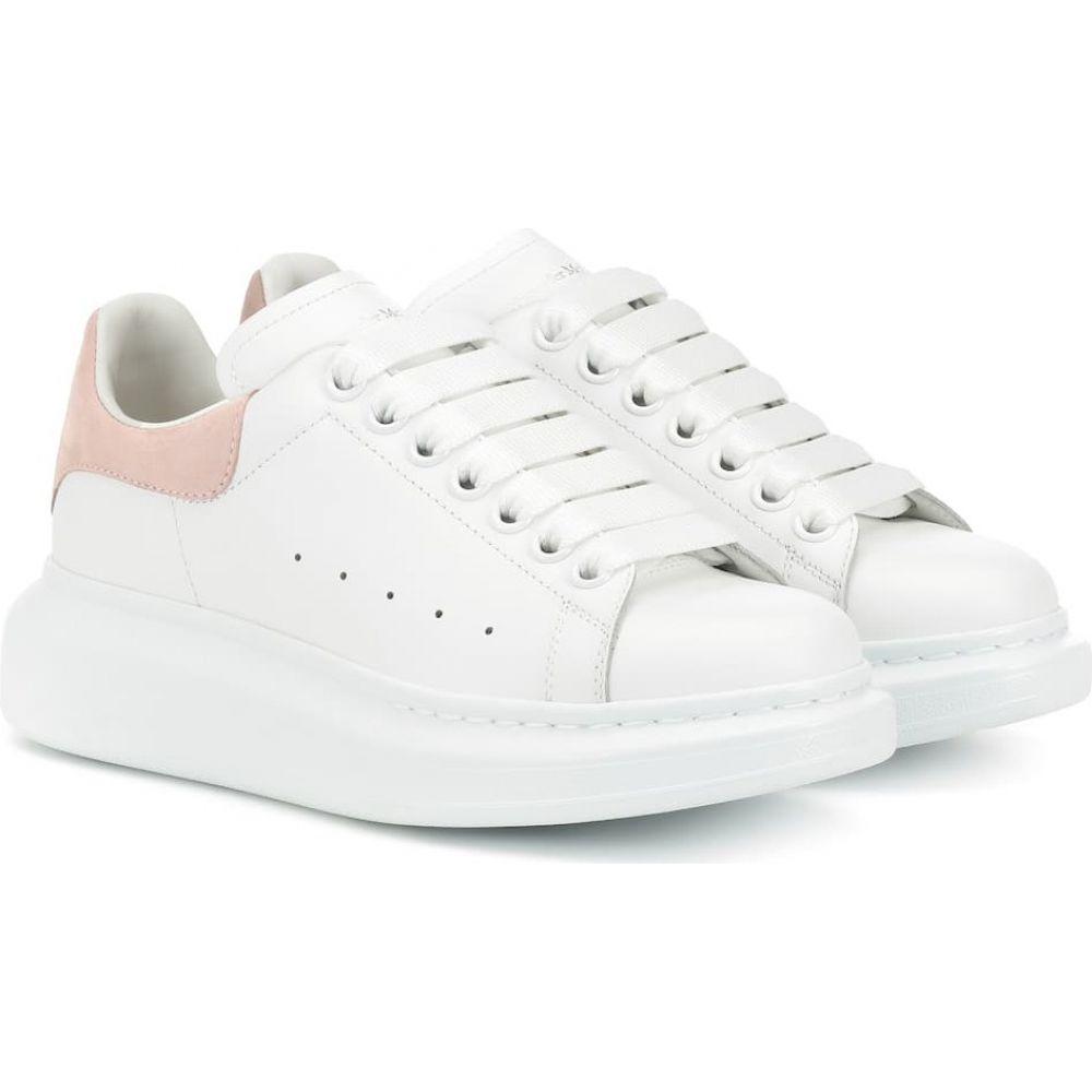 【送料無料キャンペーン?】 アレキサンダー マックイーン Alexander McQueen レディース スニーカー シューズ・靴【leather sneakers】White/Patchouli, フジマルツ醤油 98d2e948