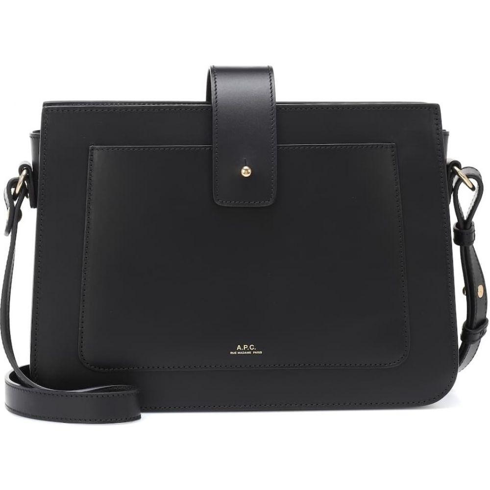 アーペーセー A.P.C. レディース ショルダーバッグ バッグ【albane leather shoulder bag】Noir