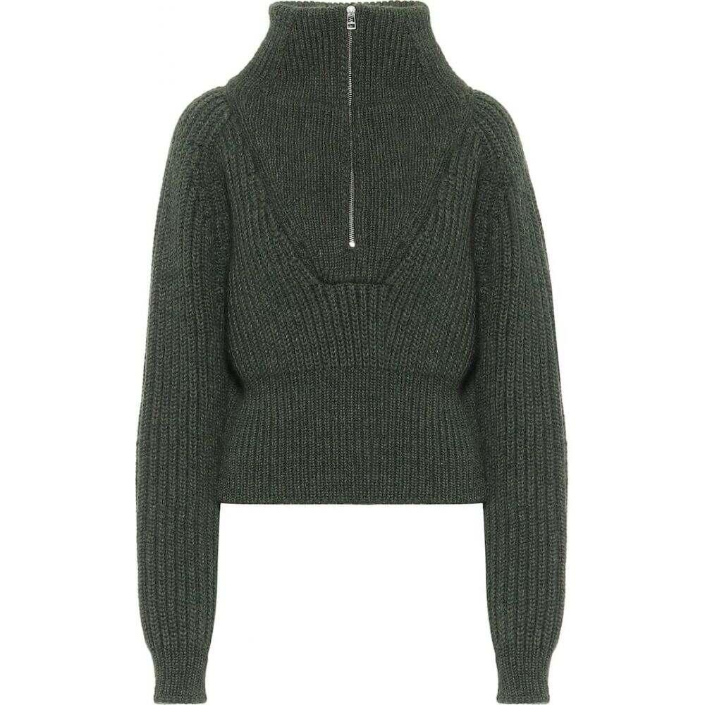 ジャックムス Jacquemus レディース ニット・セーター トップス【la maille olive wool-blend sweater】Dark Green
