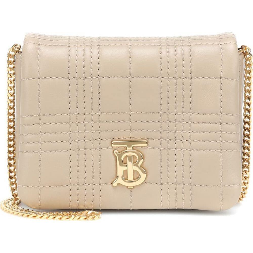 バーバリー Burberry レディース ショルダーバッグ バッグ【lola mini leather shoulder bag】Honey