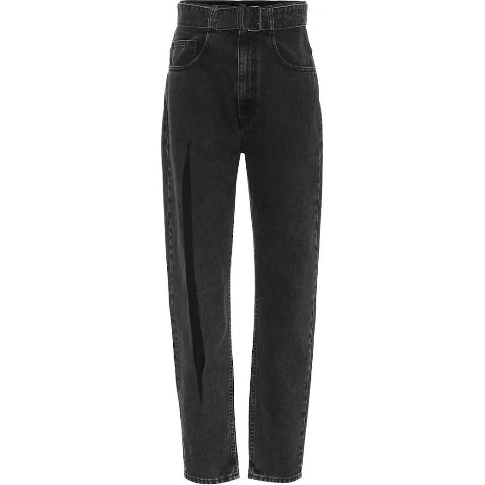 メゾン マルジェラ レディース ボトムス パンツ ジーンズ バースデー 記念日 ギフト 贈物 お勧め 通販 デニム サイズ交換無料 jeans carrot Black Stone Maison Margiela AL完売しました high-rise