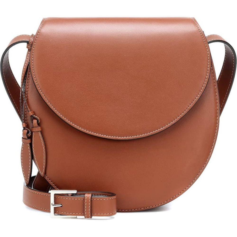 ハンティング シーズン Hunting Season レディース ショルダーバッグ バッグ【the saddle leather crossbody bag】Cognac