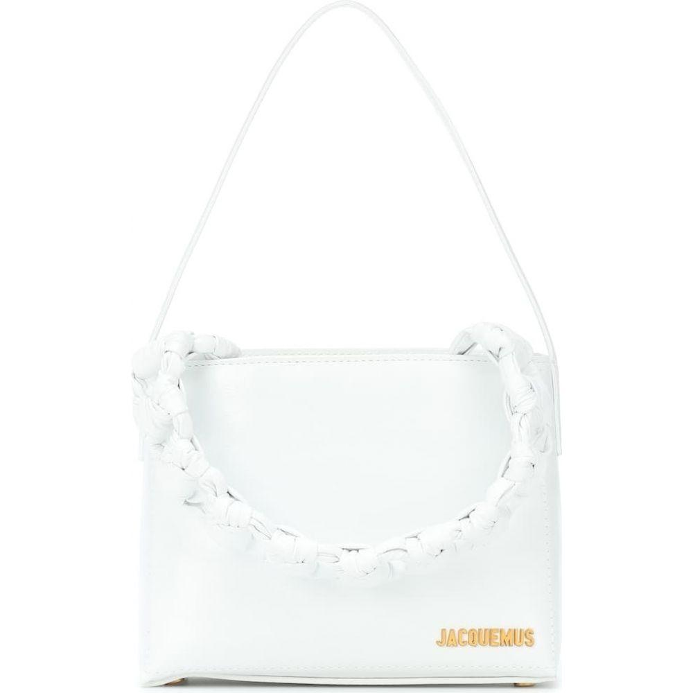 ジャックムス Jacquemus レディース ショルダーバッグ バッグ【le sac noeud shoulder bag】White