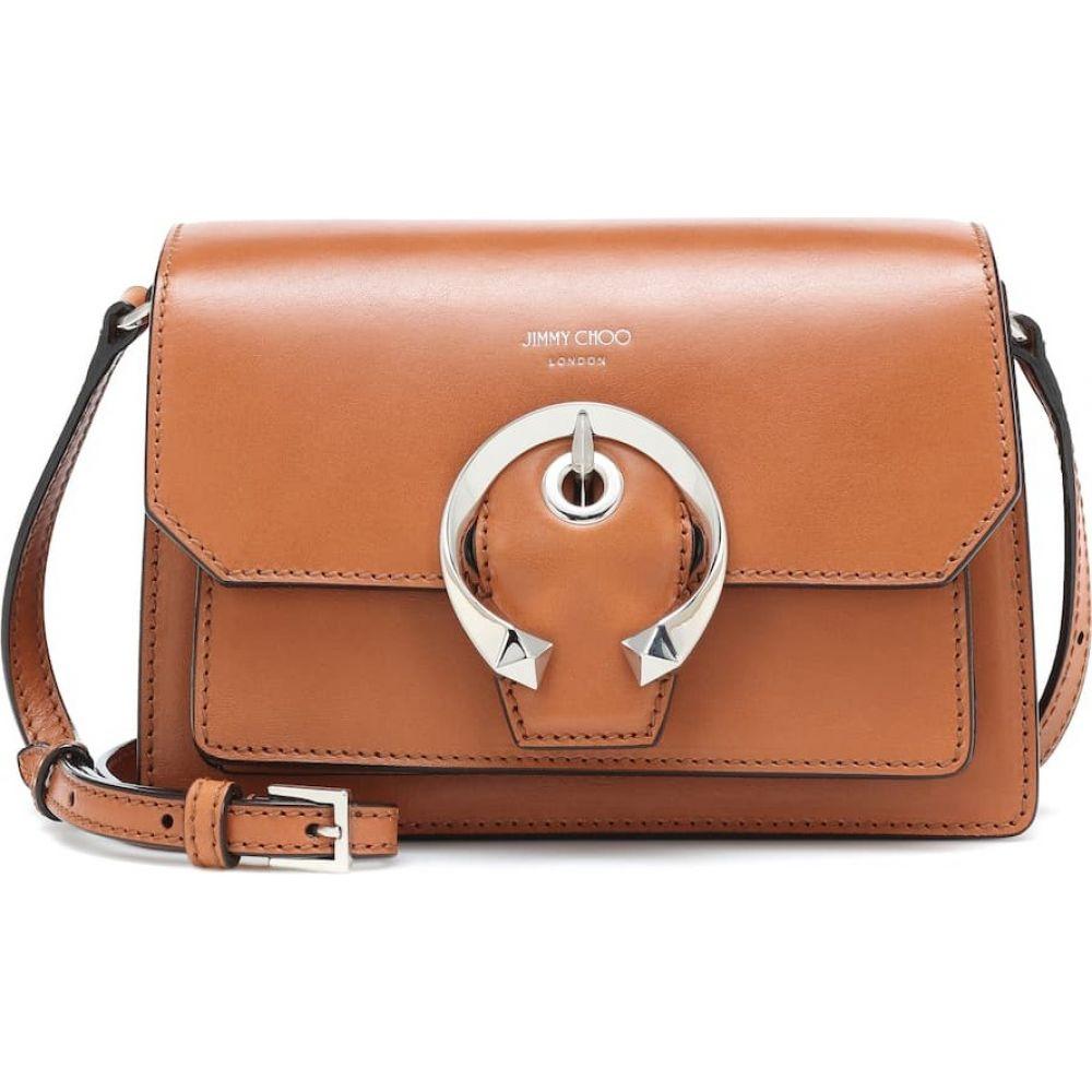 ジミー チュウ Jimmy Choo レディース ショルダーバッグ バッグ【madeline small leather shoulder bag】Cuoio/Silver