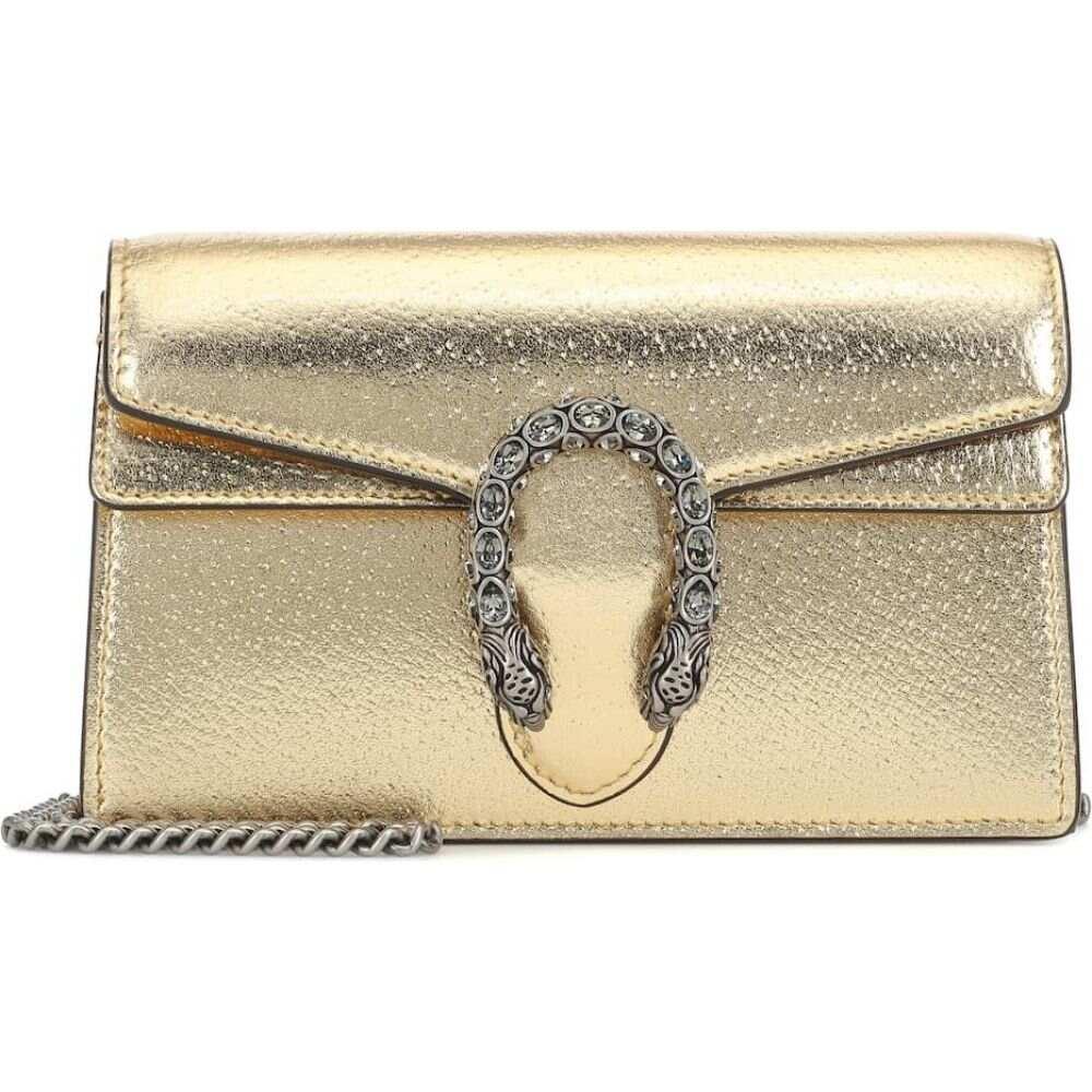 グッチ Gucci レディース ショルダーバッグ バッグ【dionysus super mini crossbody bag】Gold