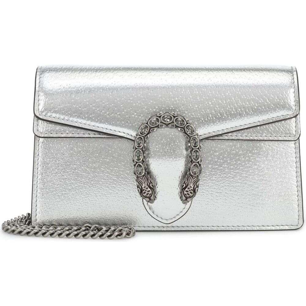 グッチ Gucci レディース ショルダーバッグ バッグ【dionysus super mini crossbody bag】Silver