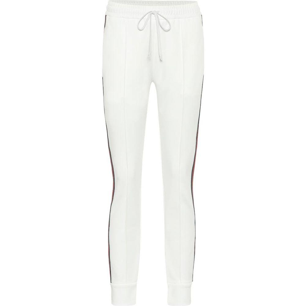 グッチ Gucci レディース スウェット・ジャージ ボトムス・パンツ【pique-jersey trackpants】Off White/Mc