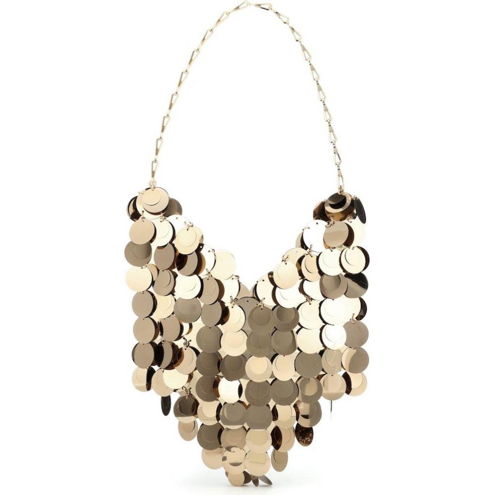 パコラバンヌ Paco Rabanne レディース ショルダーバッグ バッグ【sparkle hobo shoulder bag】Light Gold