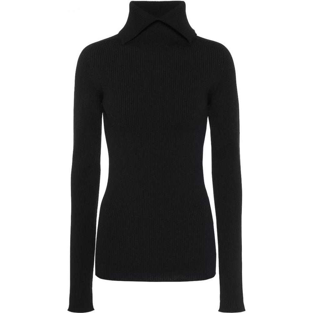 ジル サンダー Jil Sander レディース ニット・セーター トップス【ribbed turtleneck sweater】Black