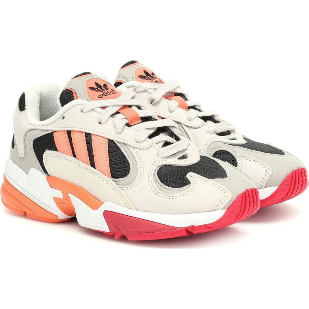 アディダス Adidas Originals レディース スニーカー シューズ・靴【yung 1 nubuck and mesh sneakers】CBlack/Semcor/Rawwht
