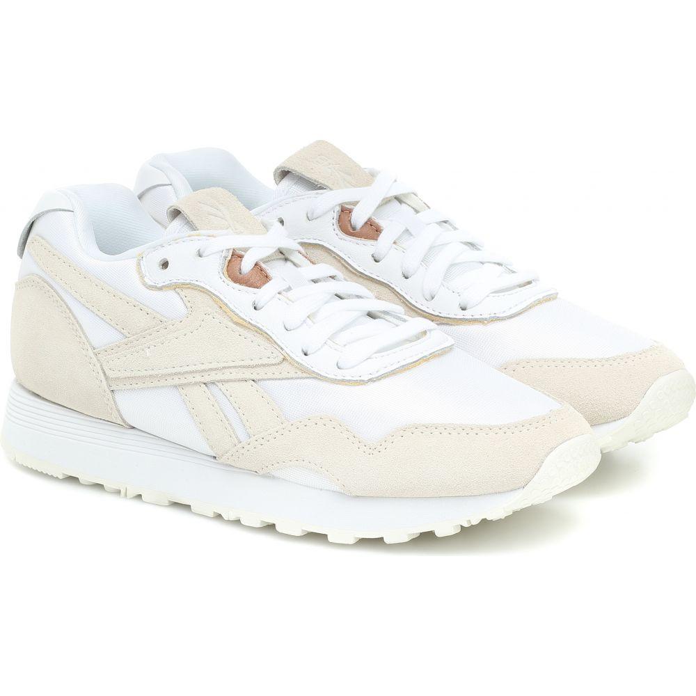 リーボック Reebok x Victoria Beckham レディース スニーカー シューズ・靴【rapide suede sneakers】White/Alabas/Vbbest