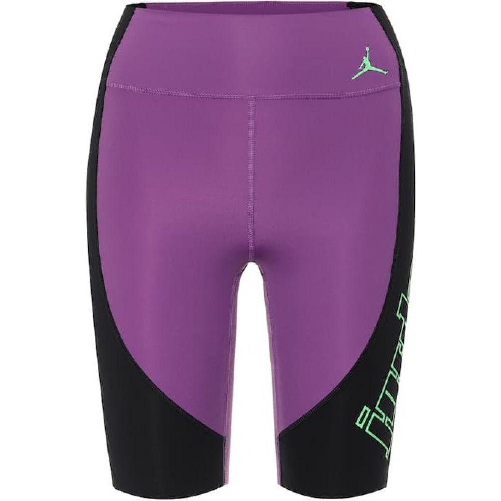 ナイキ Nike レディース ショートパンツ ボトムス・パンツ【jordan moto biker shorts】Black/Purple/Green